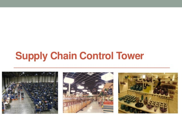 Supply Chain Control Tower