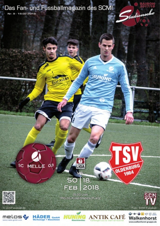 LANDESLIGA WESER‐EMS 2017 ‐ 2018 StadionEcho online scmFussball.de 2