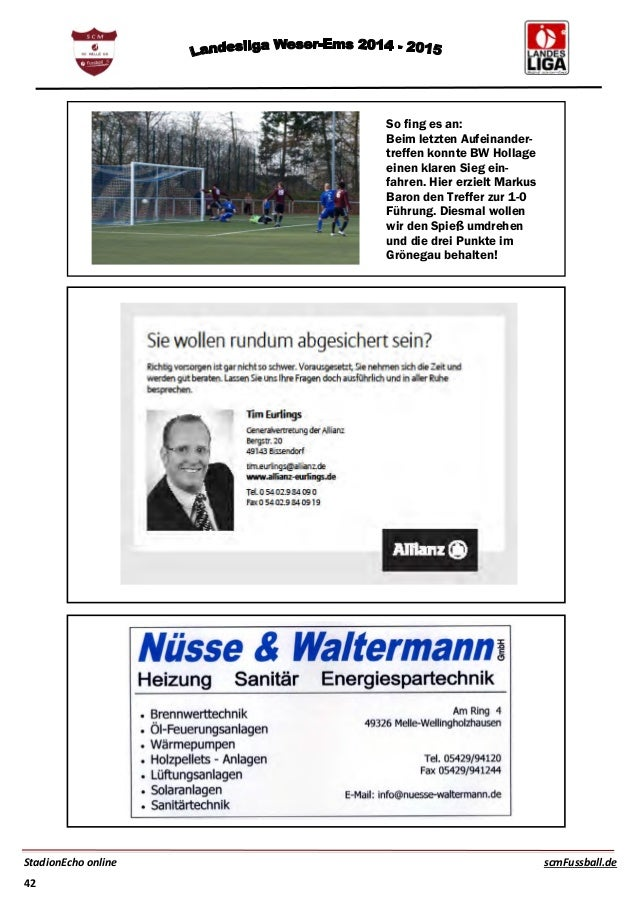 sc melle fussballmagazin stadionecho scm gegen bw hollage. Black Bedroom Furniture Sets. Home Design Ideas