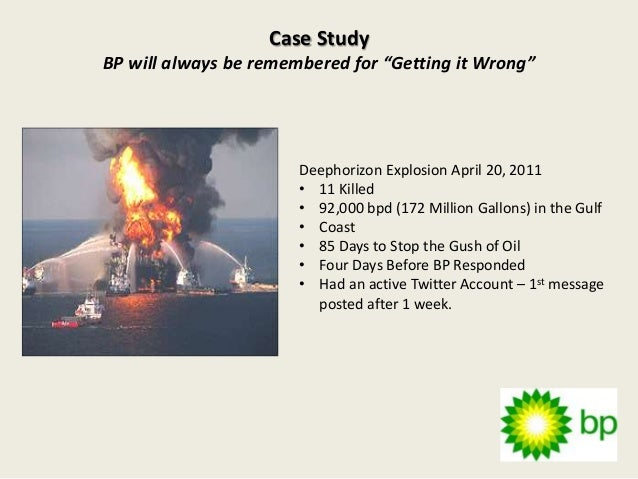 bp oil spill case study risk management These many flaws encapsulate the reason why the teamwork in bp's management  lurk in bp's way of  the bp oil spill was due to  to bp case study.
