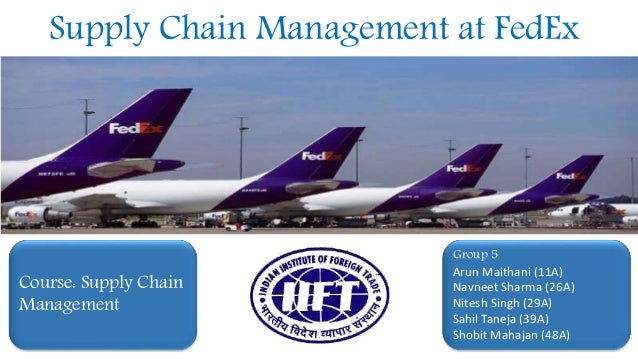 fedex supply chain management Become a plus+ subscriber today and you'll get access to all supply chain management review premium  and logistics bellwether fedex were a .