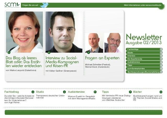 Folgen SIe uns auf Mehr Informationen unter www.scmonline.de1Das Blog als leeresBlatt oder: Das Erzäh-len wieder entdecken...
