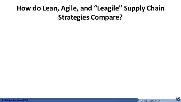 implementing the leagile supply chain Strategy and factors affecting the supply chain of  strategic supply chain partners can create and implement  (leagile) supply chains.