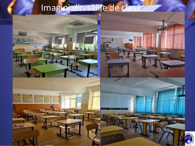 Imagini din sălile de clasă