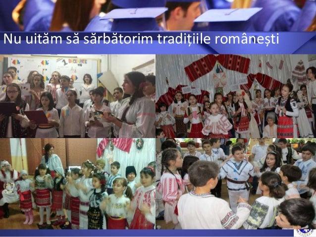 Nu uităm să sărbătorim tradițiile românești
