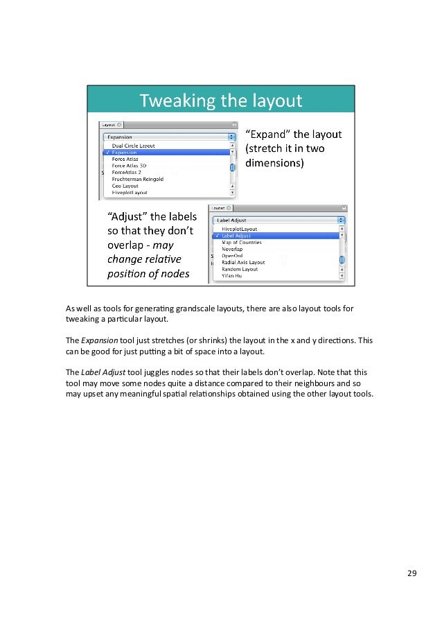 As  well  as  tools  for  genera3ng  grandscale  layouts,  there  are  also  layout  tools  for...