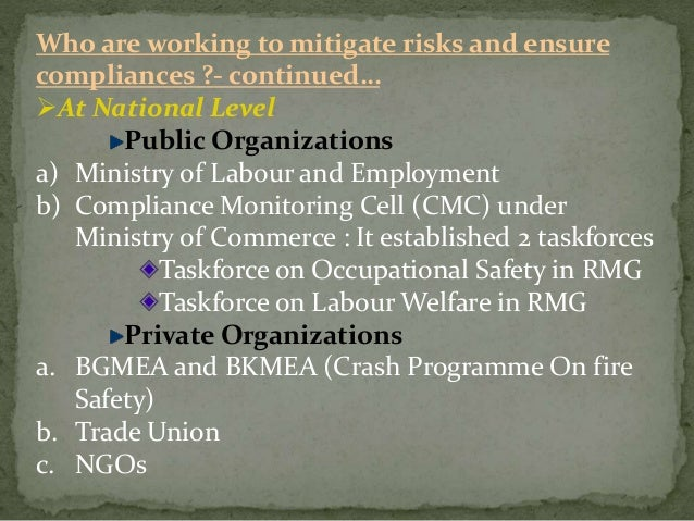 improving social compliance in bangladeshs ready made Expertise corporate responsibility in the »bangladesh accord« which regulations are transferable to other supply chains.
