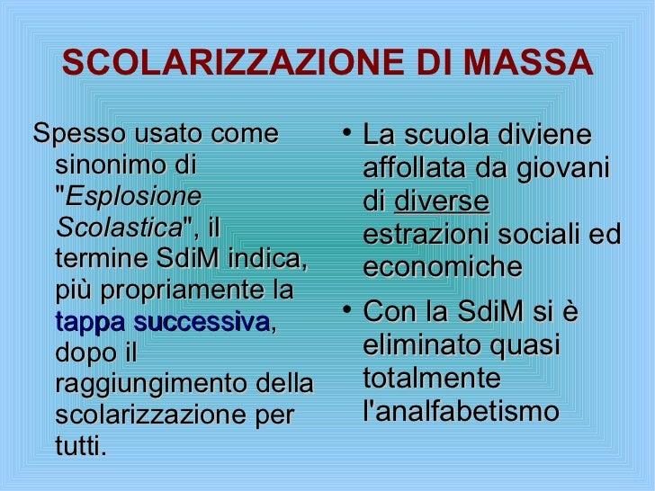 scolarizzazione di massa