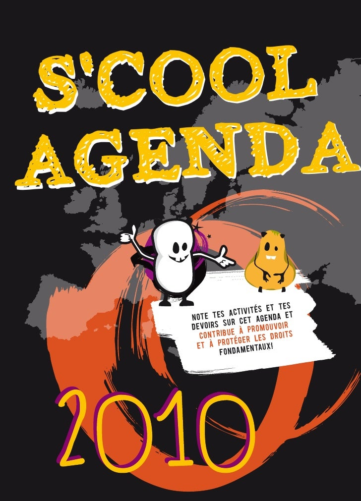 S'cool Agenda 2010 (French)
