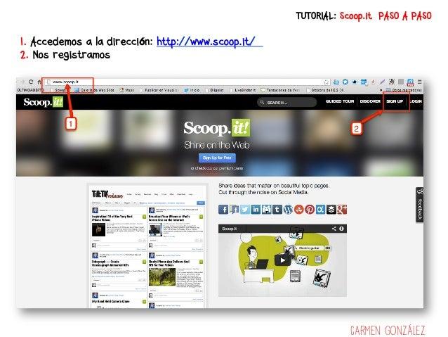 Tutorial Scoop.it en español paso a paso Slide 3