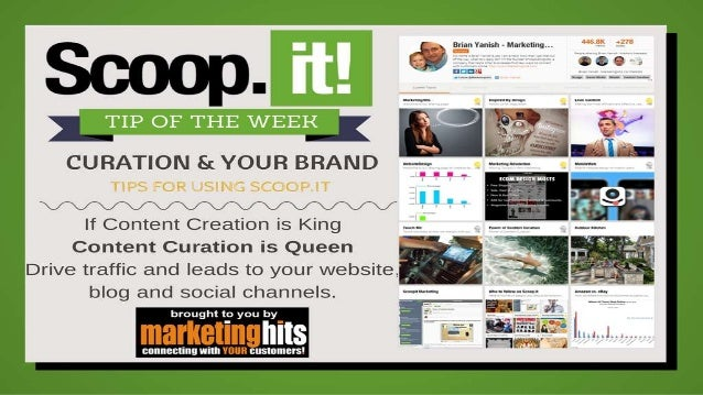 Use Scoop.it to Market Your Brand & Generate Leads!