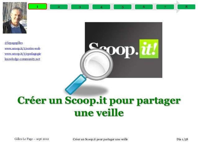 1 1  2  3  4  5  6  7  8  @lepagegilles  www.scoop.it/t/ecrire-web www.scoop.it/t/epedagogie knowledge-community.net  Crée...