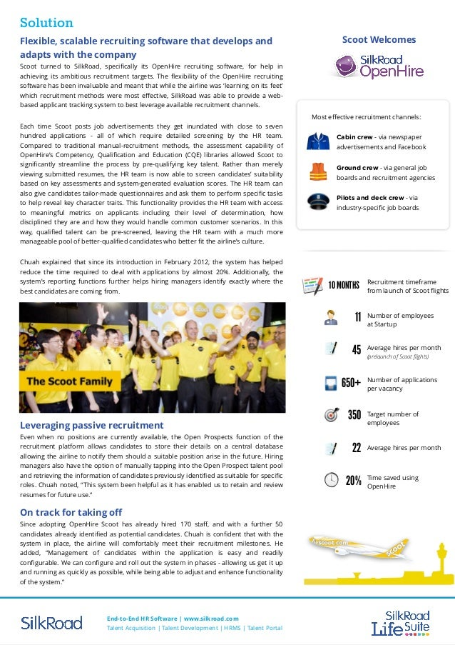 Case Study Scoot Airlines