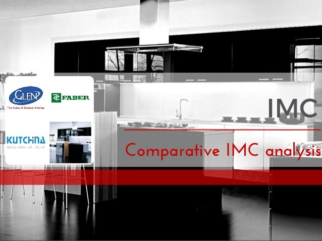 IMC Comparative IMC analysis