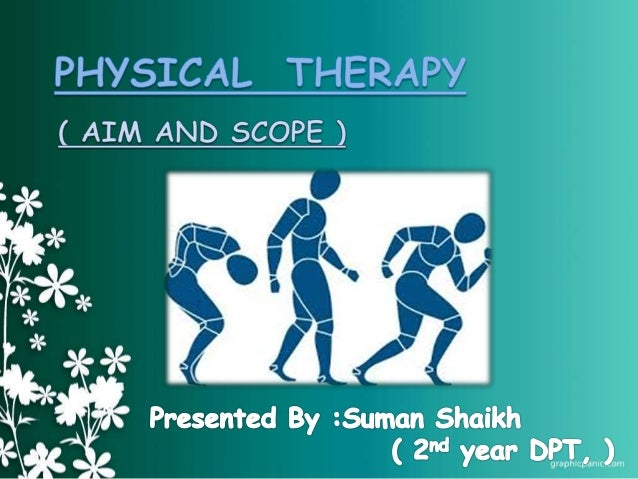 • Help restore movement and normal body function in cases of illness, injury and disability.