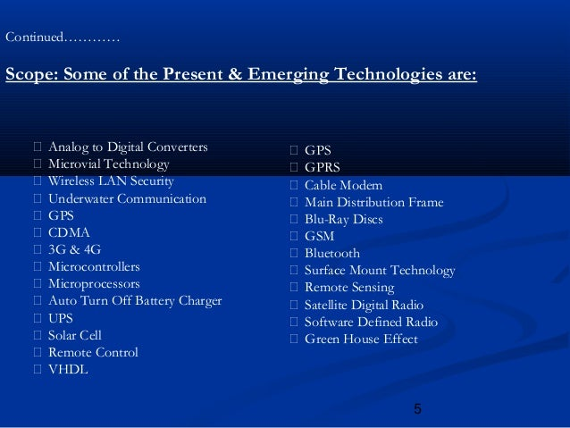meaning of electronics and communication