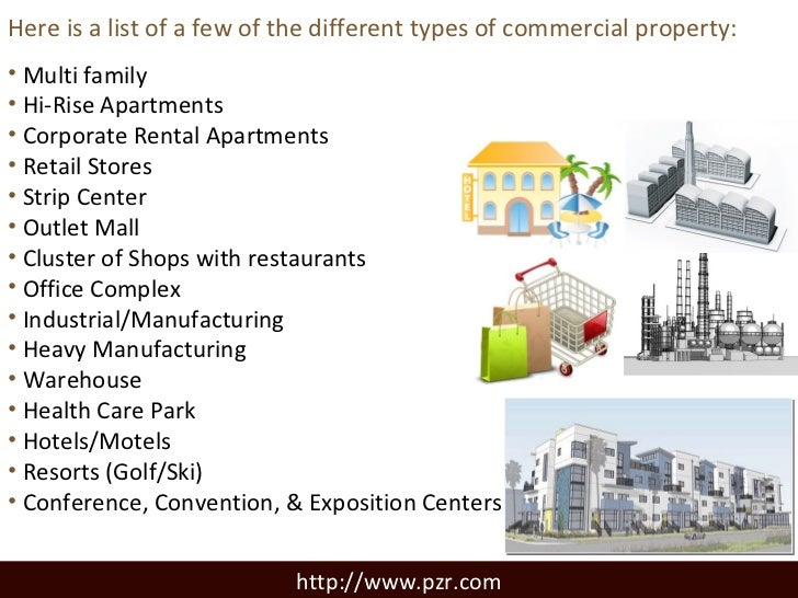 Commercial Property Types : Scope and focus of any due diligence commercial real estate