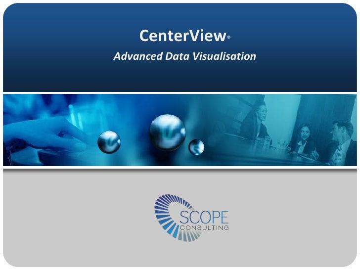 CenterView® Advanced Data Visualisation