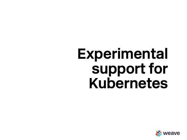 Visualising Kubernetes with Weave Scope