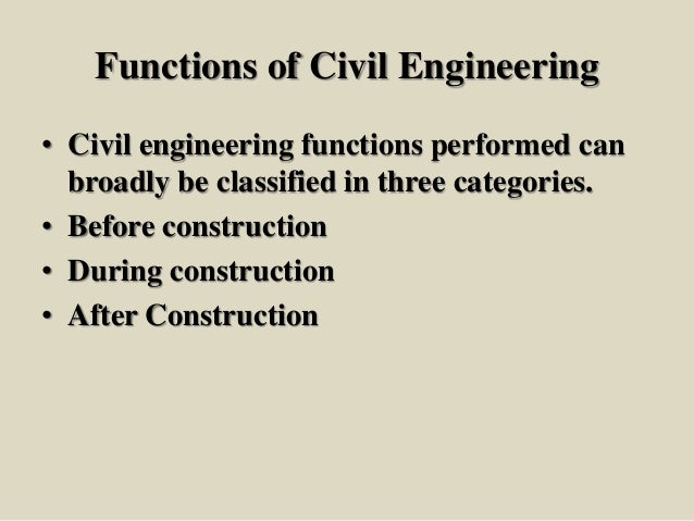 scope of civil engineering The scope of civil engineering is bright in india and across the globebut  remember, you will have to be patient.