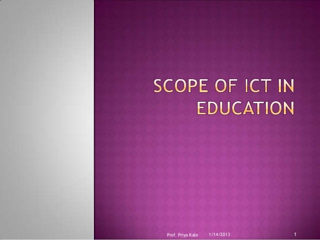 how priorisation of ict in education Offshoring development perspectives 'new tunisia-  education system ict priorisation by the government 25 °46 21 °5,4 41 °43 use of social networks.