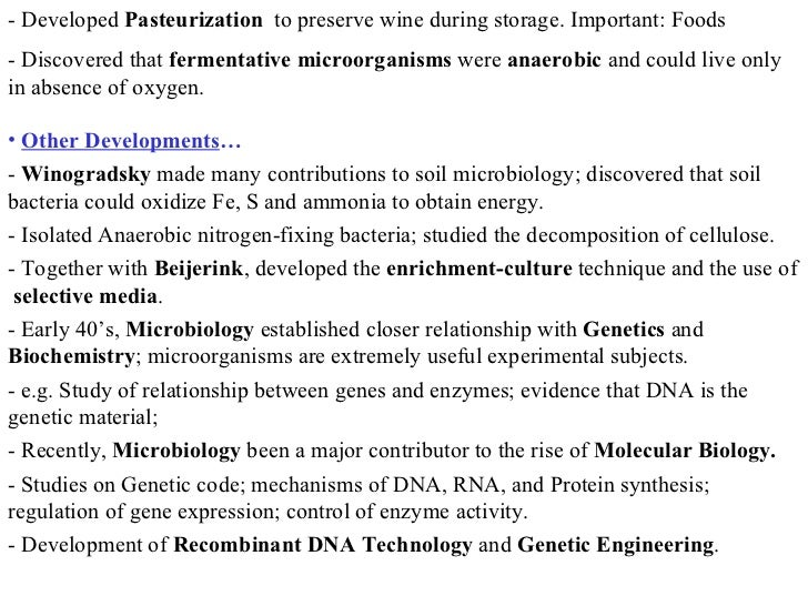 Scope of microbiology