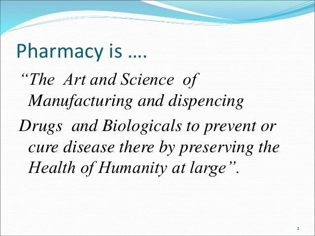 Scope of pharmacy ppt
