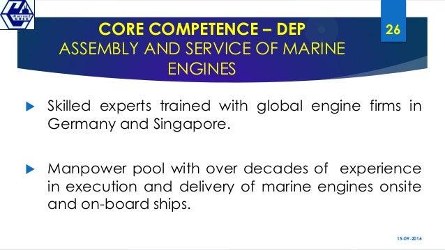 Scope & Potential Market Indigenous Marine Diesel Engine CII MoD(DDP)…