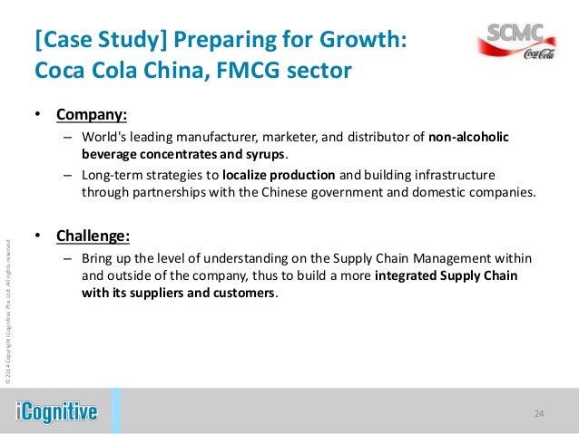 Coca-Cola SCM - Case Study Example - studentshare.org