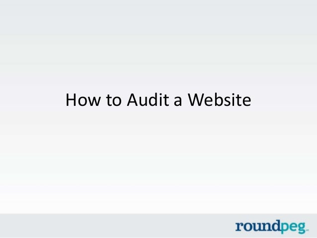 How to Audit a Website