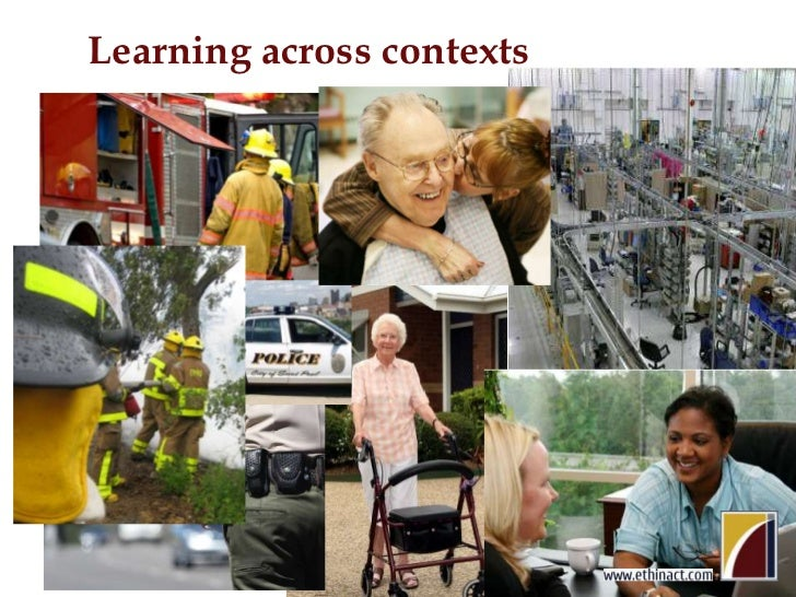 Learning across contexts<br />