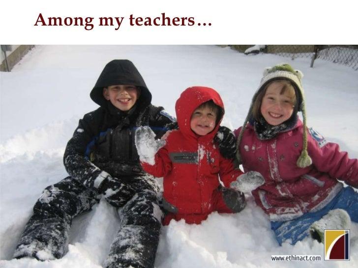 Among my teachers…<br />