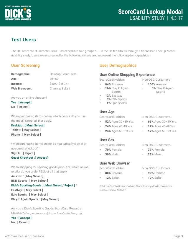 Loyalty program Lookup Modal User Study Slide 3