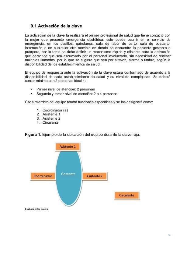 18 9.1 Activación de la clave  La activación de la clave la realizará el primer profesional de salud que tiene contacto c...