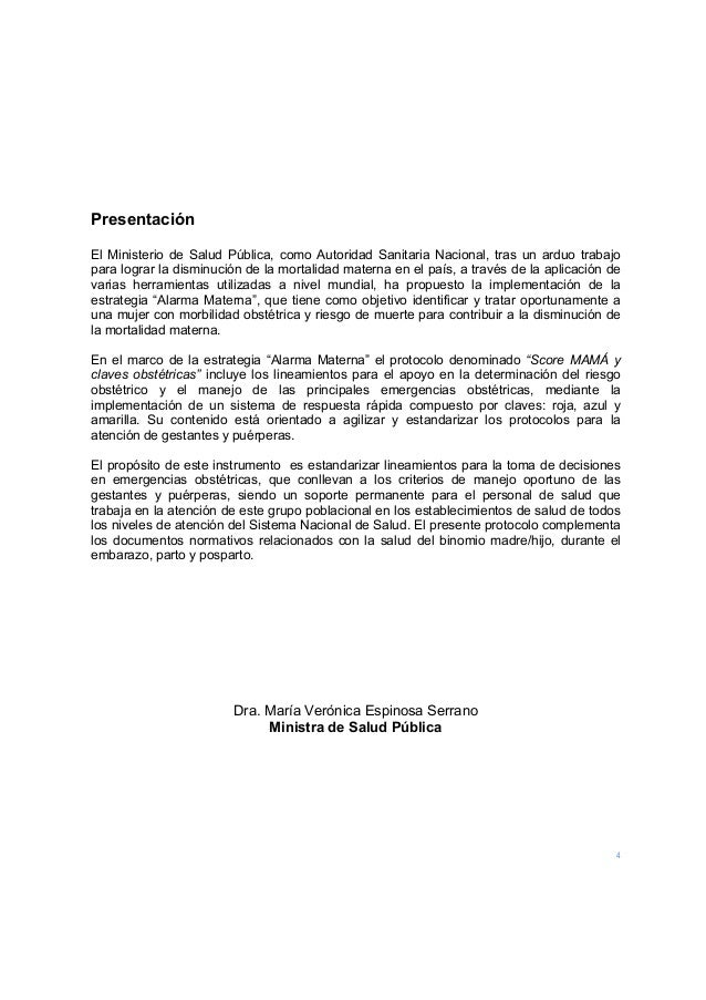 4  Presentación El Ministerio de Salud Pública, como Autoridad Sanitaria Nacional, tras un arduo trabajo para lograr la d...