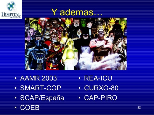 Comparacion SMART-COP PSI, CURB 65 SMARTCOPconsensibilidadalta,VPP:22%,VPN:98,6%. CURB65conespecificidadelev...