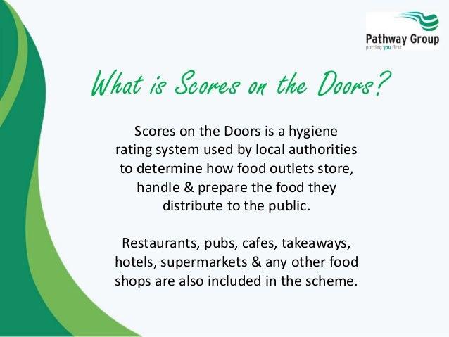 Scores on the Doors ...  sc 1 st  SlideShare & Scores on the Doors - Food Hygiene Training providers food hygiene c\u2026