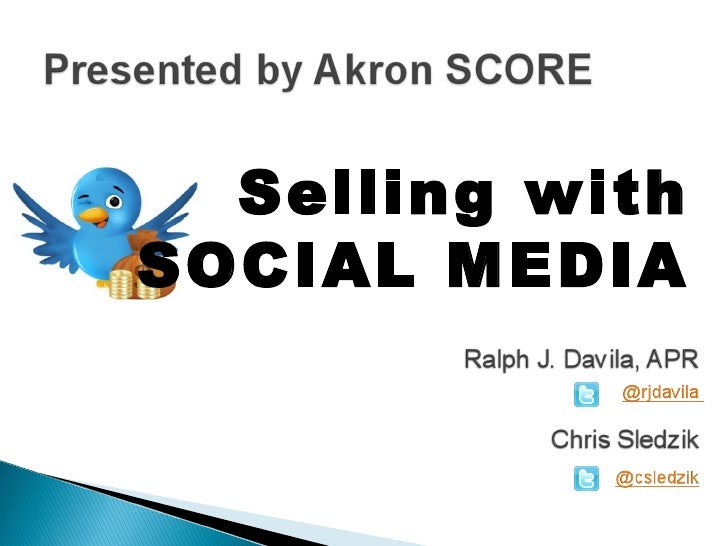 Selling withSOCIAL MEDIA