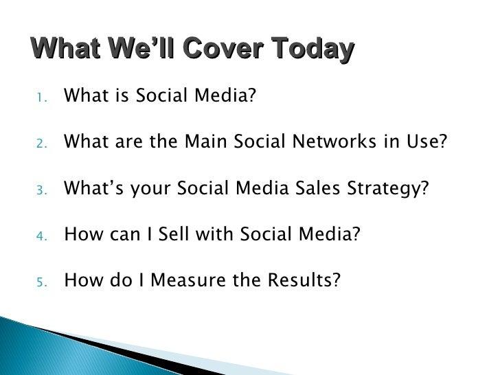 "Akron SCORE ""Selling with Social Media"" Strategic Workshop Slide 2"