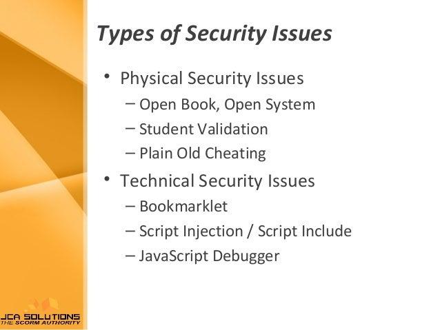 Scorm security