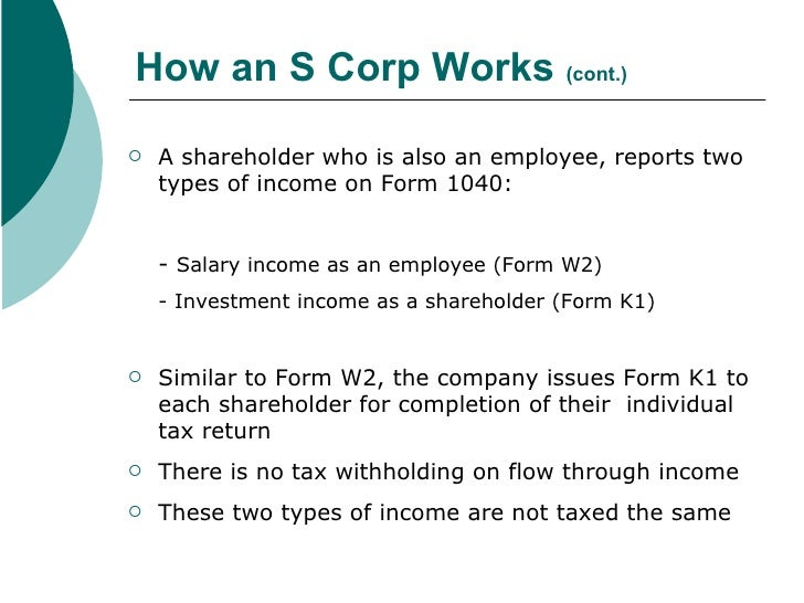 What is an S Corporation