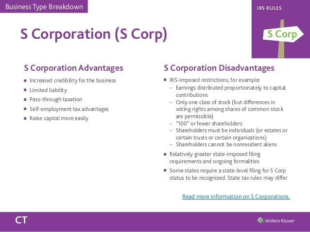 disadvantages of corporations C corporations are often overlooked, but they can be the right business type for many find out what advantages they offer over s corporations and llcs you might be.
