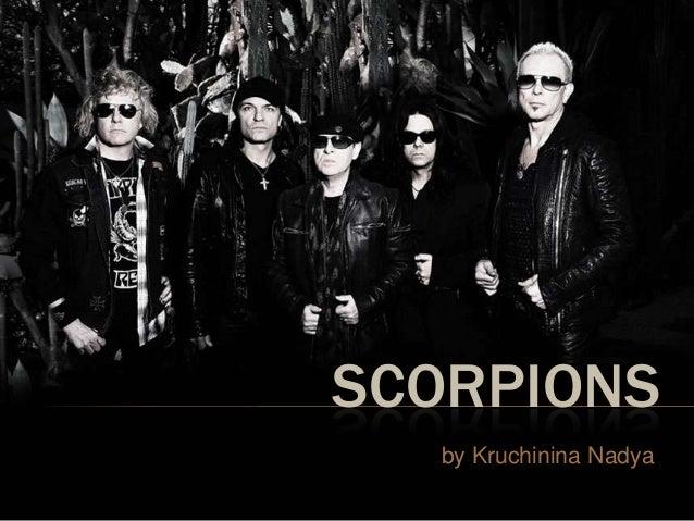 SCORPIONS  by Kruchinina Nadya