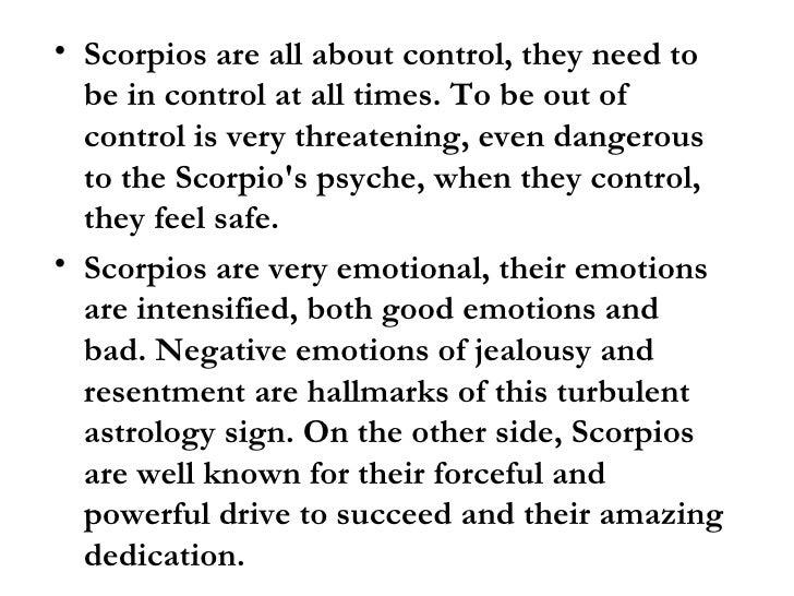 Scorpio manipulation