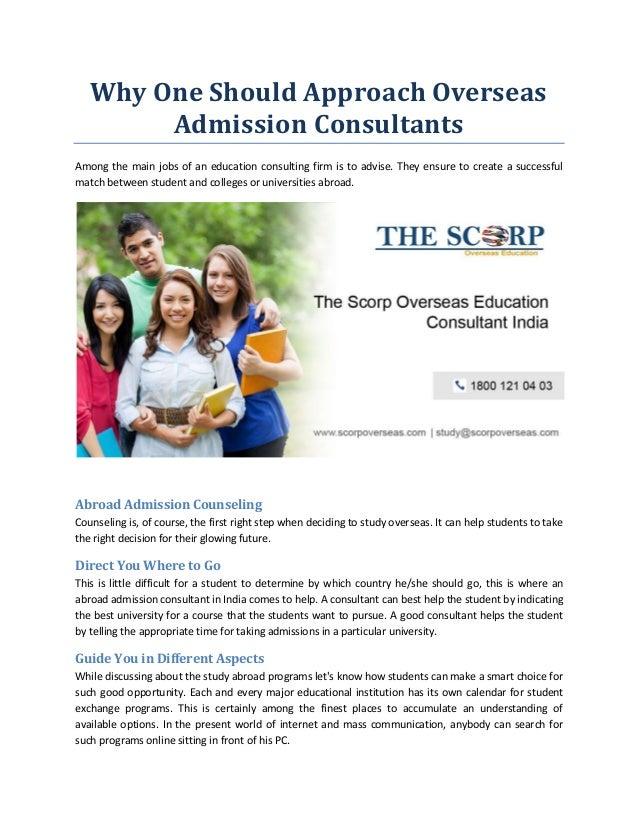 Best Overseas Education Consultants India | Professional
