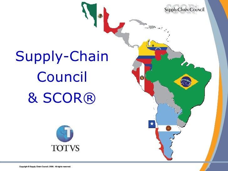 Supply-Chain Council & SCOR®