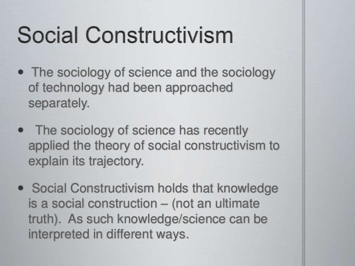 What Is Social Construction Theory?
