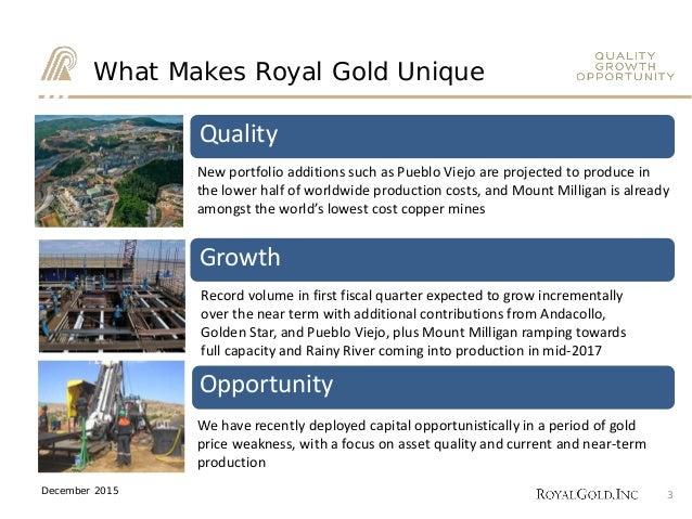 Scotiabank mining conference, website, toronto, dec 2015 Slide 3