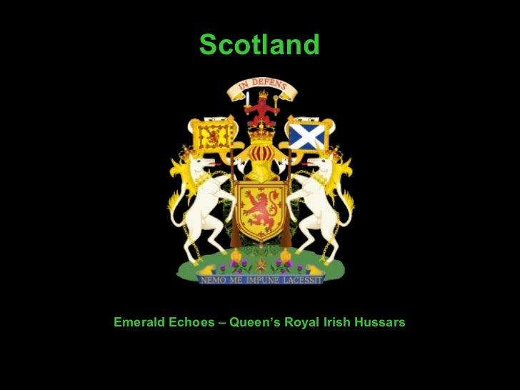 Emerald Echoes   – Queen's Royal Irish Hussars Scotland