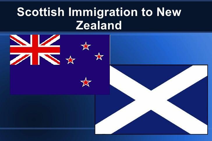 Scottish Immigration to New Zealand